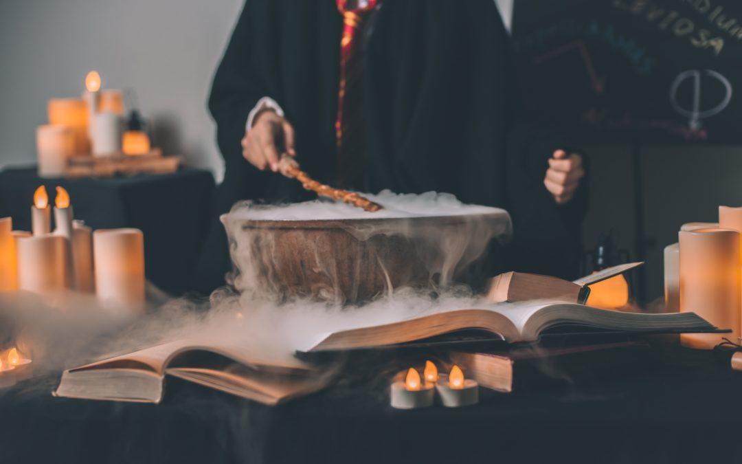 Merlin l'Enchanteur et le rangement